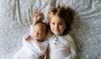 Photo of Two Children Representing Genetics, Autism Spectrum Disorder, and a Gluten-Free, Casein-Free Diet